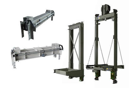 Thang máy tải hàng được công ty Thiên Nam đưa vào phân phối từ những năm 1994