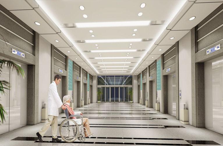 Điểm đặc biệt của thang máy bệnh viện chính là khoang cabin.