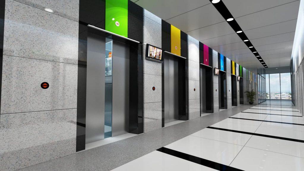 Liên hệ lắp đặt thi công thang máy chung cư