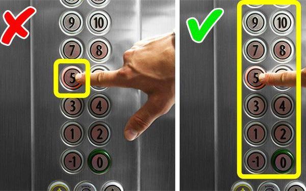 Những điều không nên làm khi đi thang máy chung cư