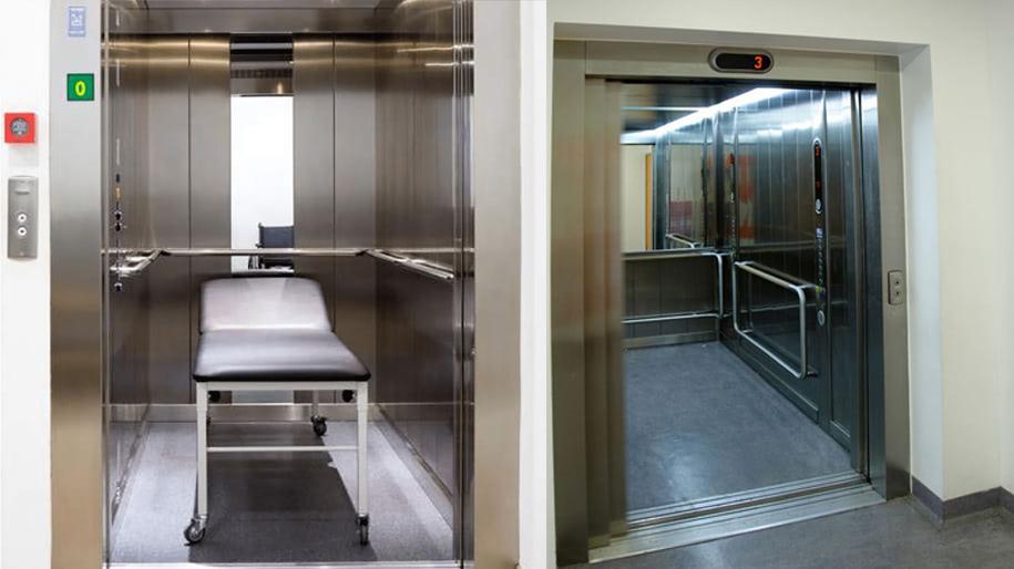 Thang máy bệnh viện Thiên Nam